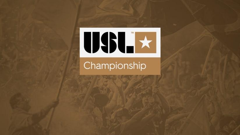 USL Championship logo - brown DL image