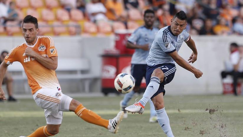Roger Espinoza - Sporting KC at Houston Dynamo - June 29, 2016