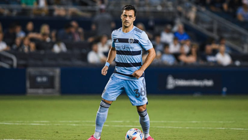 Sporting KC Weekly Schedule: Aug. 3-7. 2021