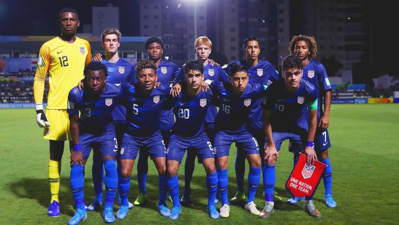 Gianluca Busio - United States vs. Netherlands - U-17 World Cup - November 2, 2019