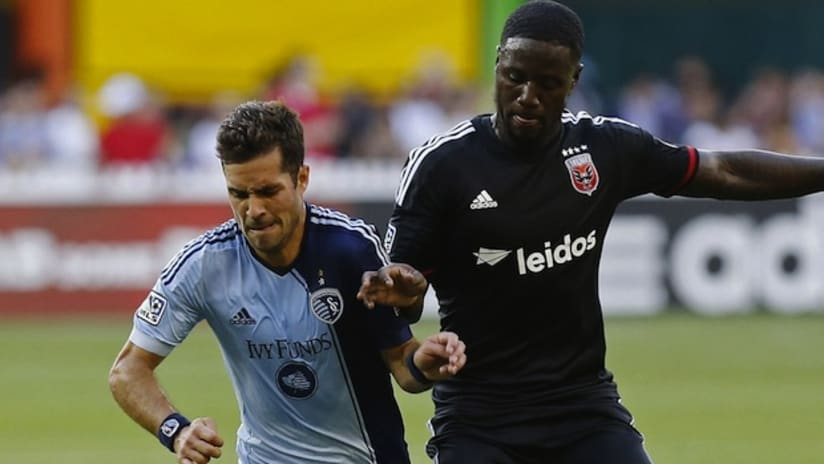 Benny Feilhaber - Sporting KC at DC United - May 31, 2014