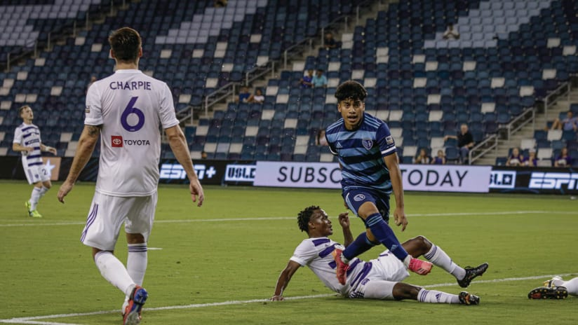 Recap: Ozzie Cisneros scores first professional goal as Sporting II falls 2-1 to Louisville City FC