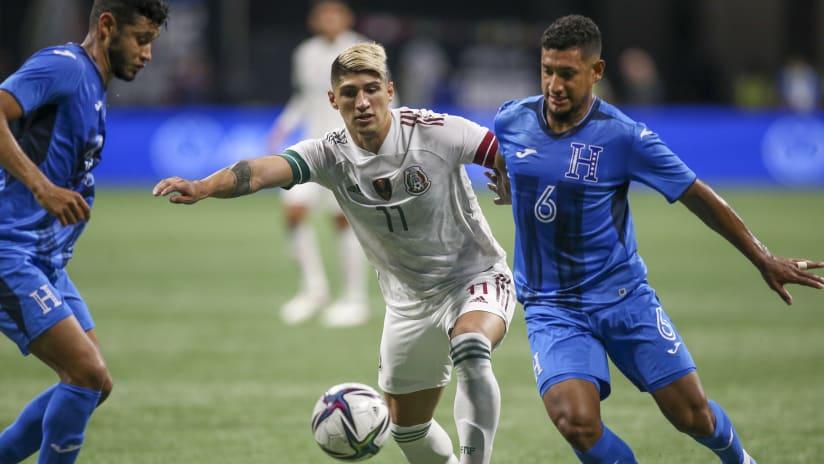 Alan Pulido - Mexico vs. Honduras - June 12, 2021