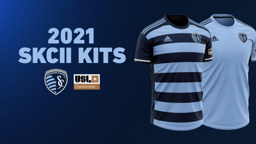 Sporting KC II new jerseys for 2021 season