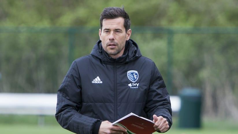 Swope Park Rangers head coach Nikola Popovic