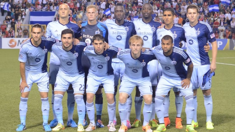 Team - Sporting KC at Real Esteli - August 19, 2014