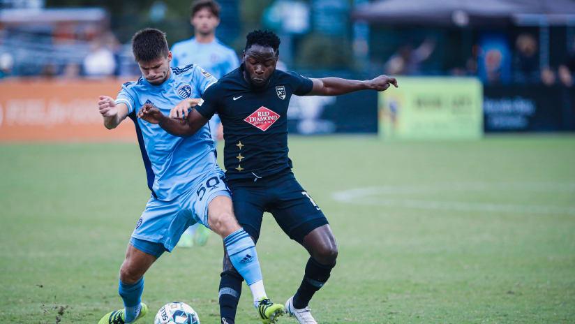 Recap: Sporting Kansas City II falls at table-topping Birmingham Legion FC on Sunday