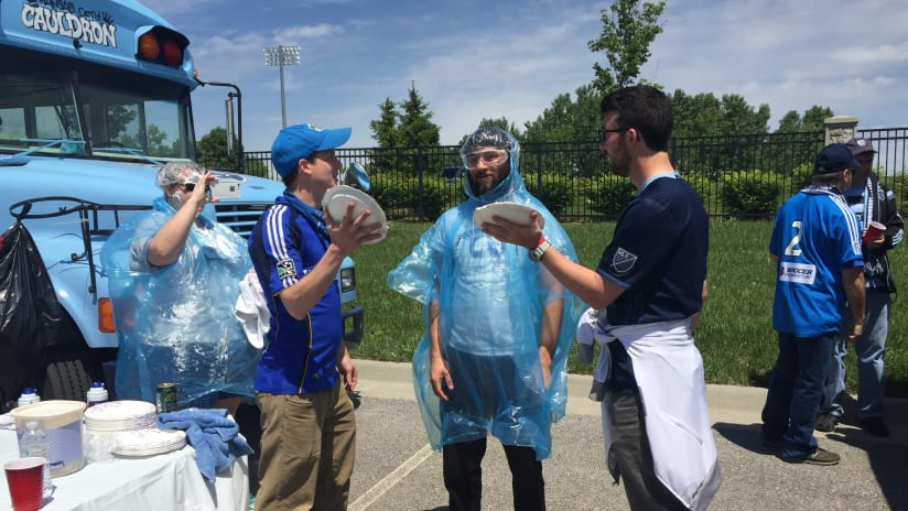 KC Cauldron Pie Throwing Contest for Heartland Habitat for Humanity