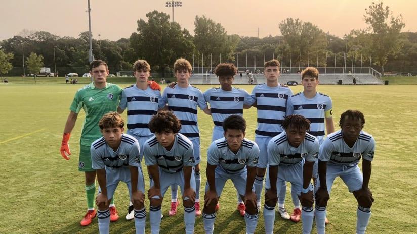 Sporting KC Academy enjoys perfect start to 2021-22 MLS NEXT season