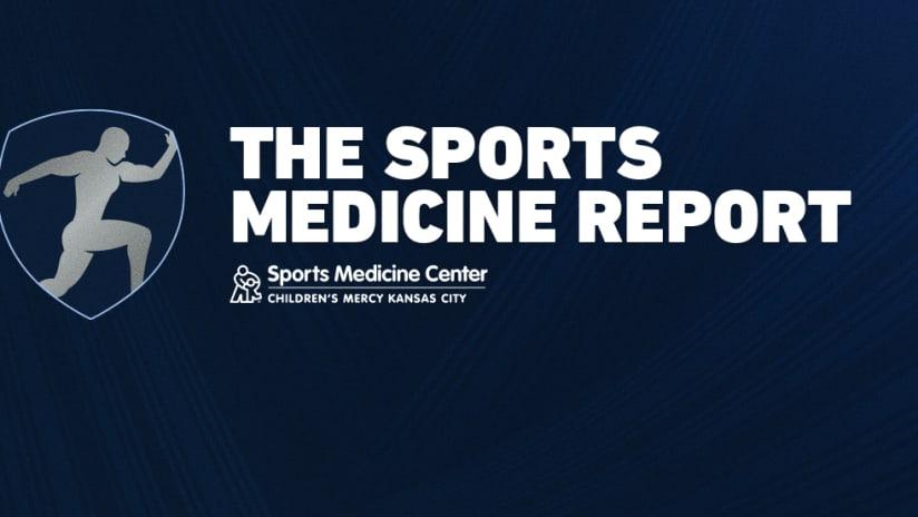 Children's Mercy Sports Medicine Report DL - 2021 Season - Sporting KC