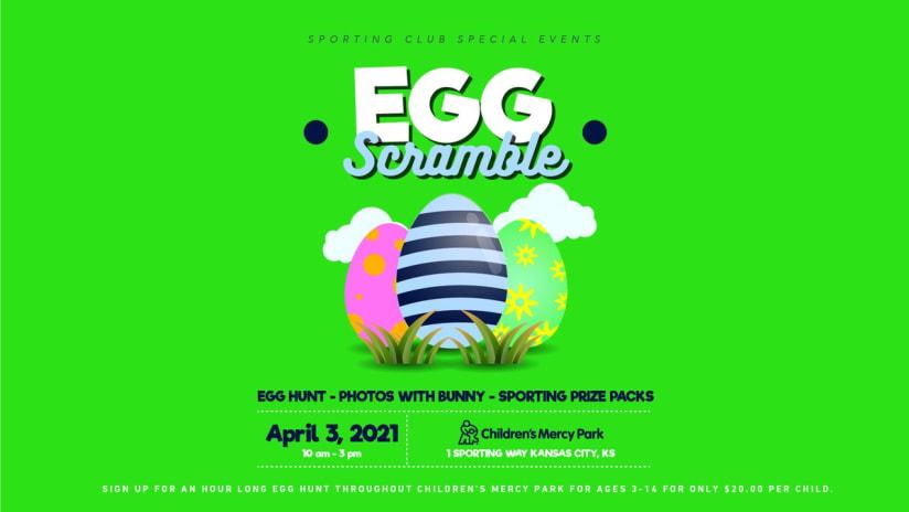 Sporting Club Special Events Egg Scramble - April 3, 2021