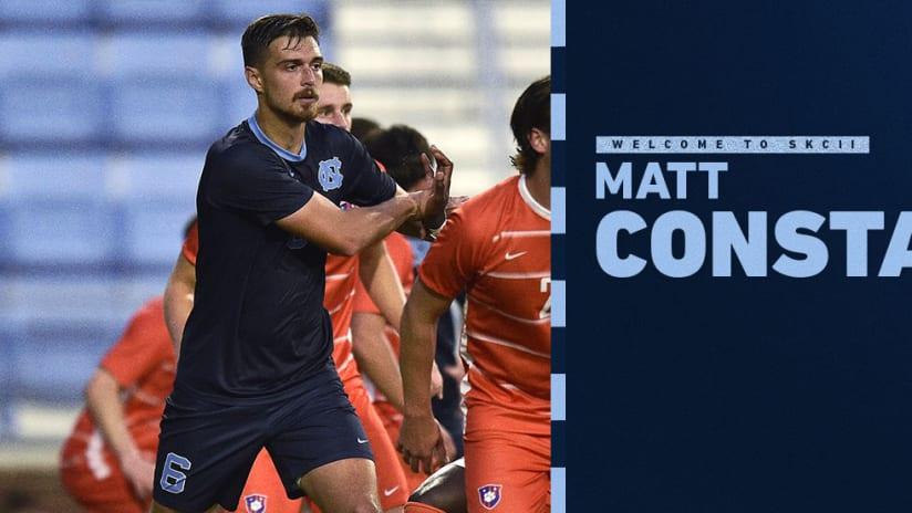 SKC II Signs Matt Constant