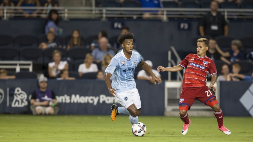 Erik Palmer-Brown - Sporting KC vs. FC Dallas - July 11, 2017