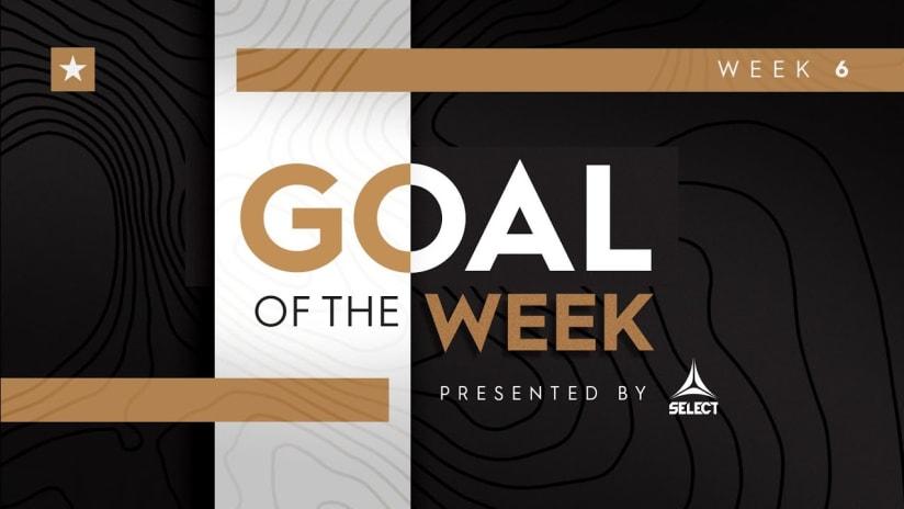 USL Championship Goal of the Week