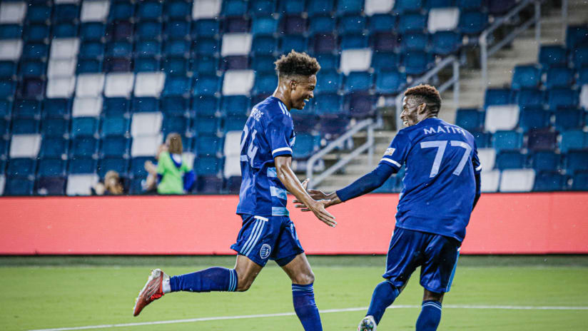 Recap: Kayden Pierre scores first professional goal as Sporting II draws 1-1 with FC Tulsa