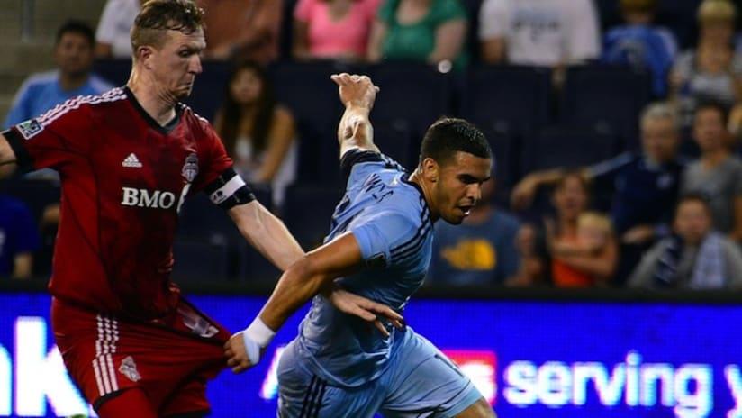 Dom Dwyer - Sporting KC vs Toronto FC - July 13, 2013