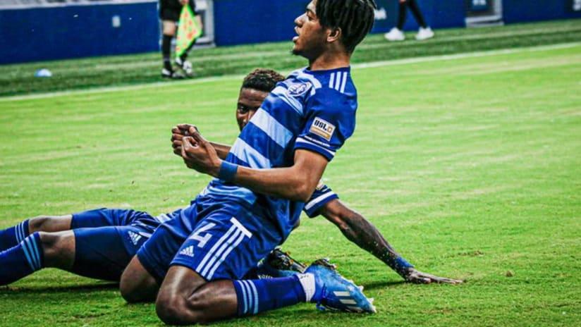 Rojay Smith - Sporting KC II vs. FC Tulsa - June 2, 2021