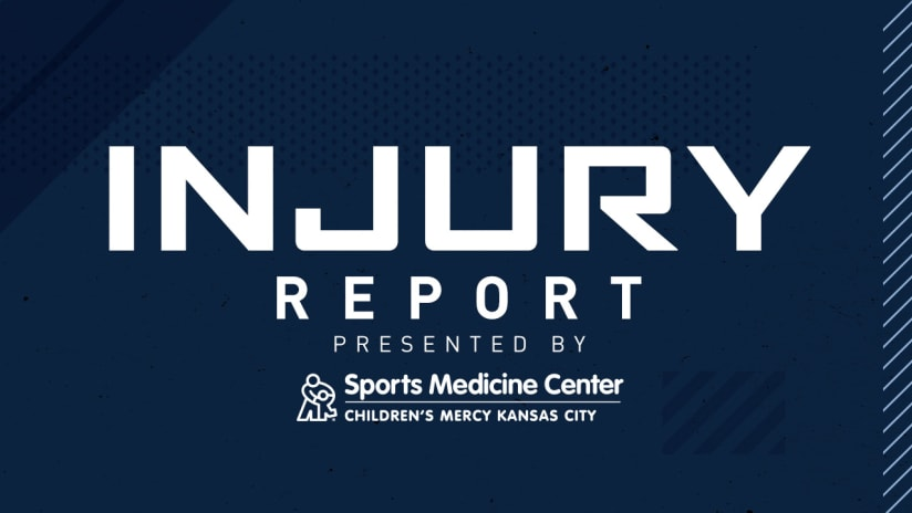 Injury Report - Sporting KC 2019 - 3Across DL Image