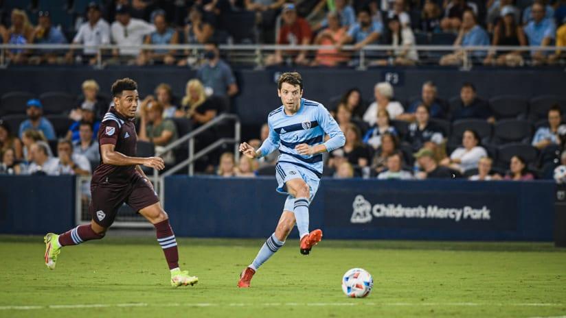 Ilie Sanchez - Sporting KC vs. Colorado Rapids - Aug. 28, 2021