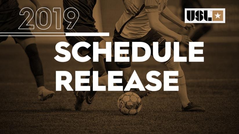 2019 USL Championship Schedule