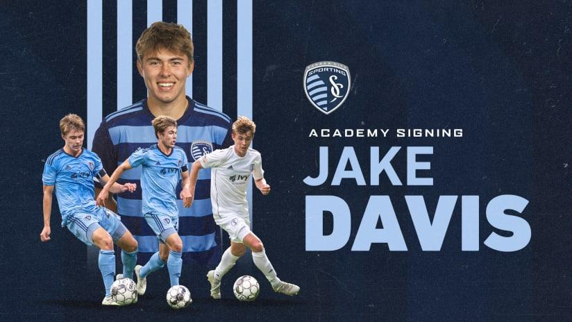 Sporting KC signs Jake Davis