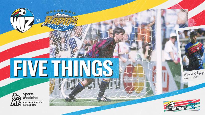 Five Things Retro - Aug. 28, 2021