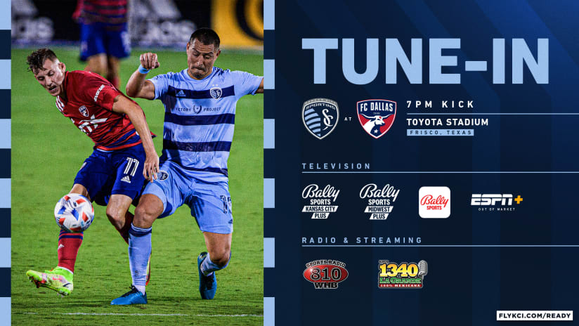 How to watch Sporting at FC Dallas on Wednesday | Sept. 29, 2021