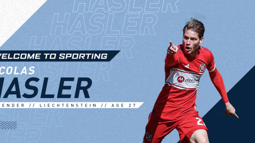 Sporting KC signs Nicolas Hasler DL image - April 2, 2019