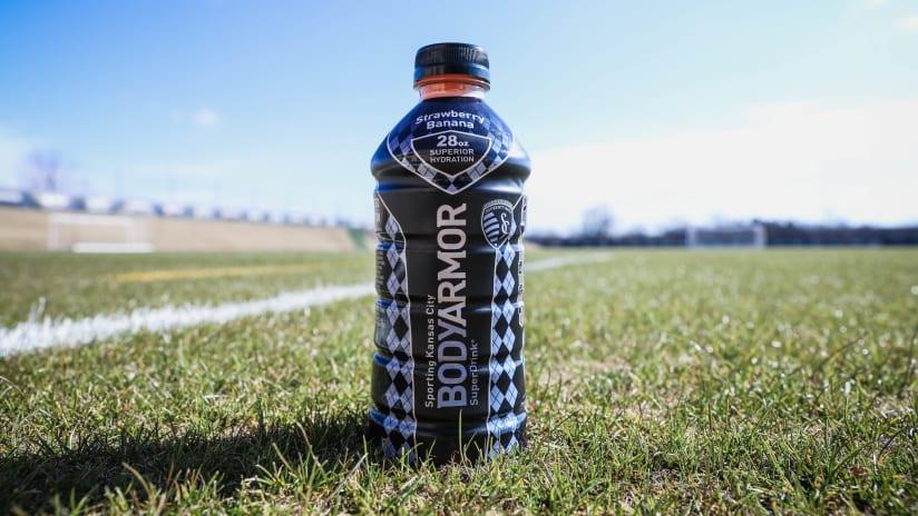 BODYARMOR - Sporting KC custom bottle