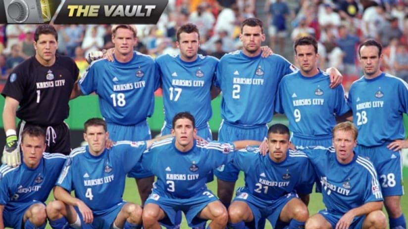 2001 Kansas City Wizards team photo