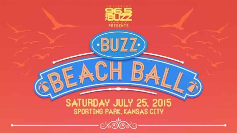2015 Buzz Beach Ball