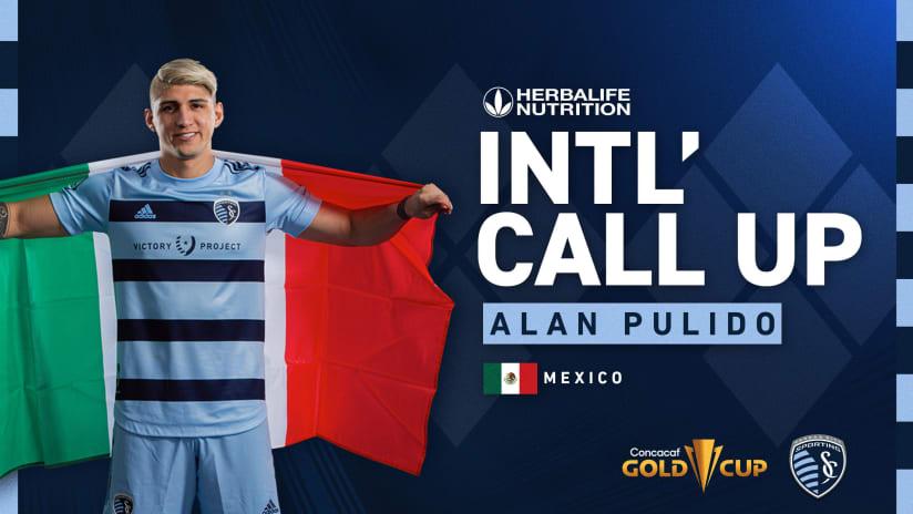 Alan Pulido - Mexico callup