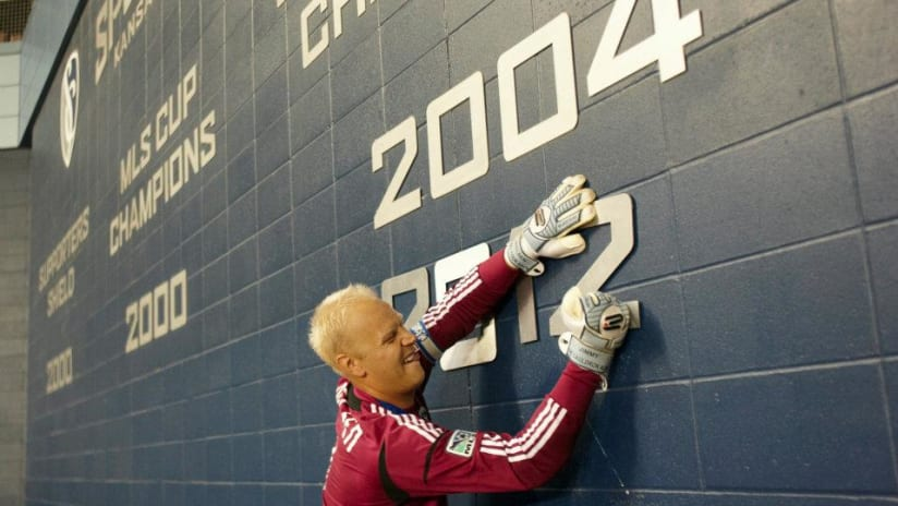 Jimmy Nielsen 2012 Open Cup Paint the Wall