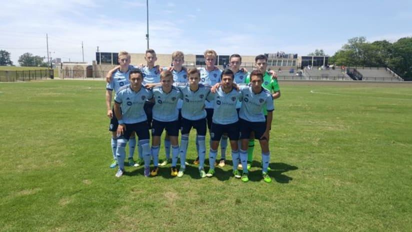 Sporting KC U-18s vs. Dallas Texans - May 14, 2016