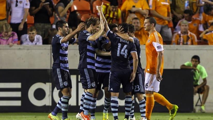 Team - Sporting KC at Houston Dynamo - June 6, 2014
