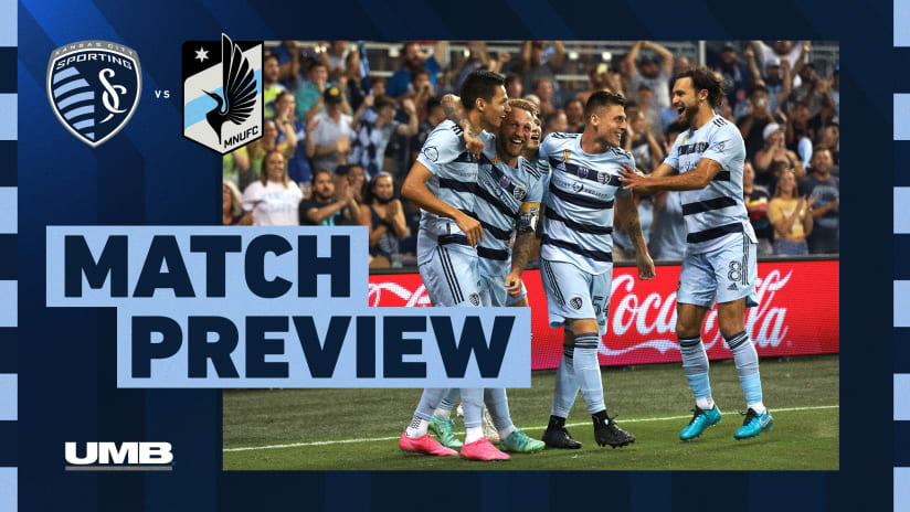 Match Preview: Sporting to play for first place Wednesday when Minnesota visits KC
