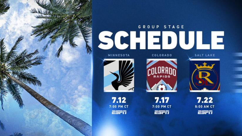 MLS is Back - Schedule Release - Broadcast
