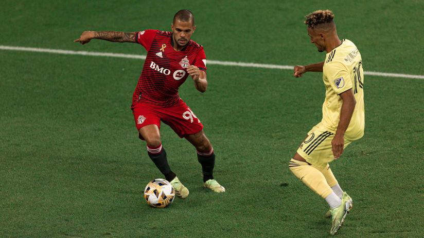 Auro Jr. named to Week 26 MLS Team of the Week