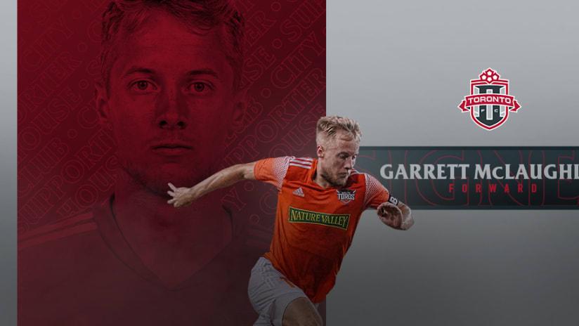 Garrett McLaughlin TFC Sign