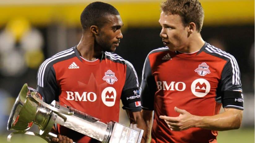 Columbus v. Toronto - 09/10/11-morgan