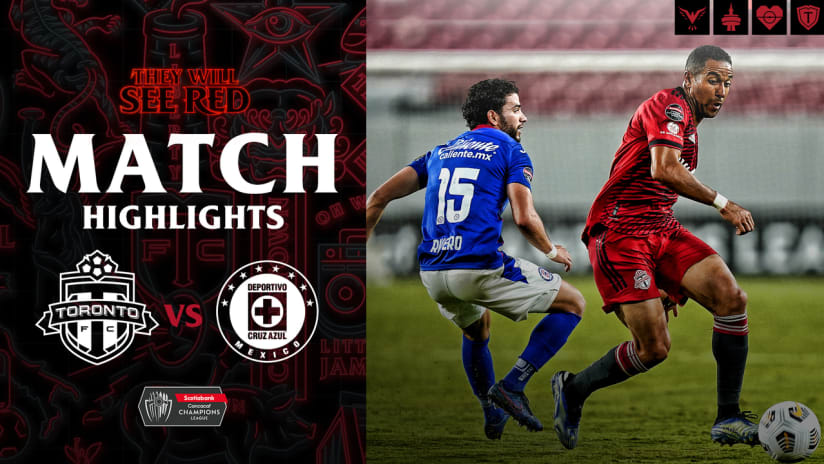 MATCH HIGHLIGHTS: Toronto FC vs. Cruz Azul | April 27, 2021