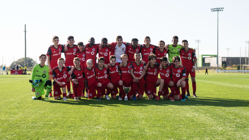 U13 BMO Champions Cup Trophy