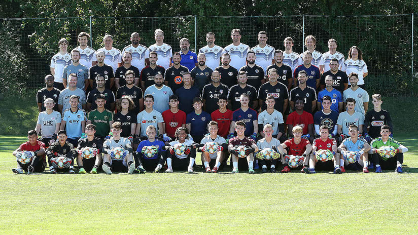 dfb goalkeeper group picture