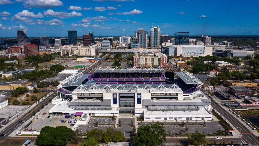 Exploria Stadium Overhead