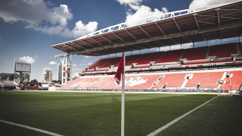 BMO Field Corner Flag vs. OTT