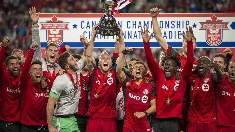Canadian Championship Trophy 2017