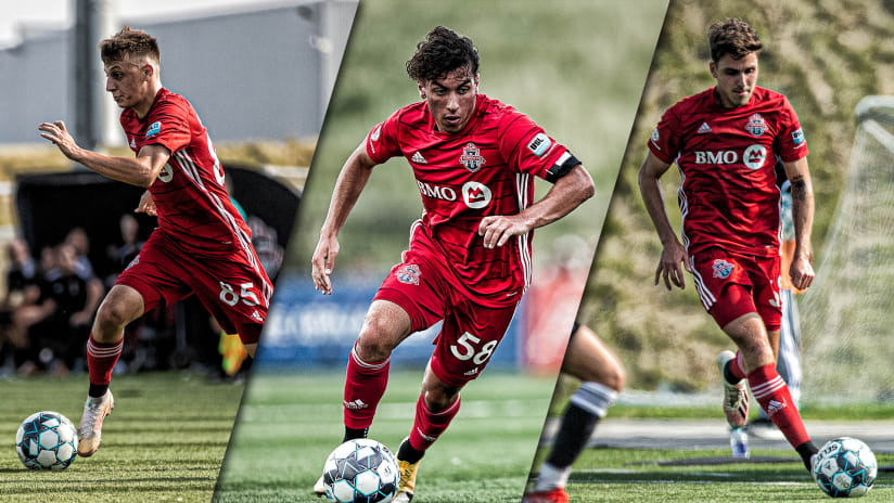 Trio of Young Reds named to Week 18 USL League One Team of the Week