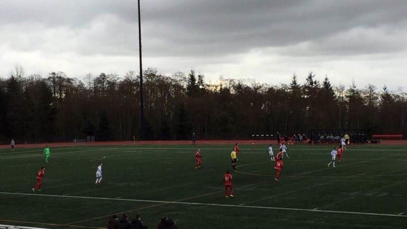 TFC II vs. Vancouver