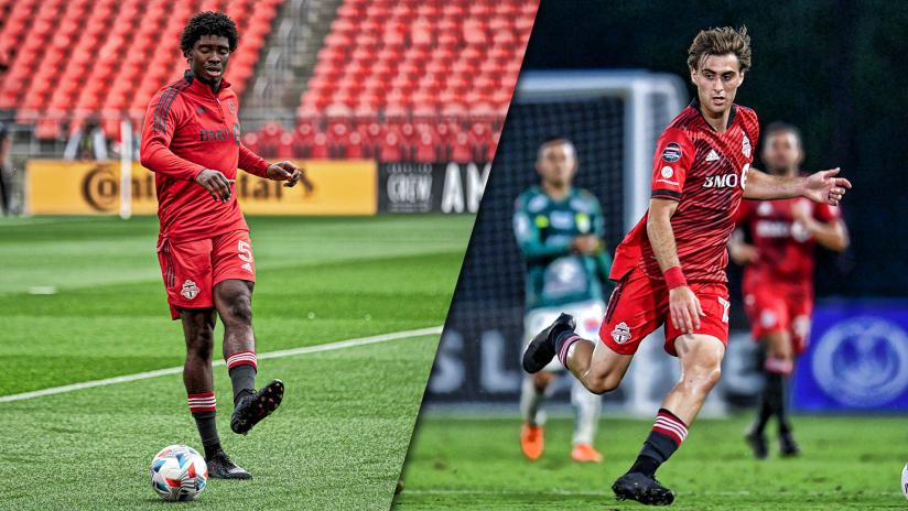Toronto FC loan Dunn and Perruzza to TFC II