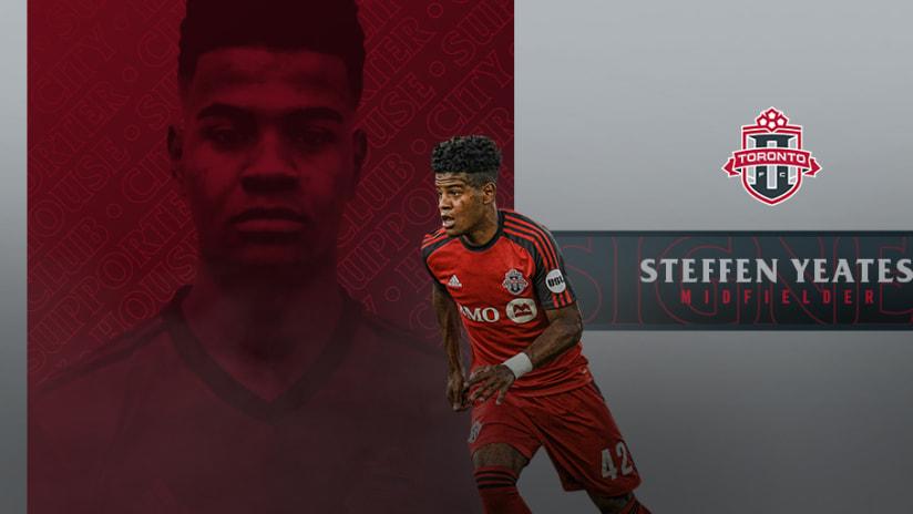 TFC II Steffen Yeates Sign